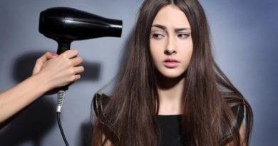 Вреден ли фен для сушки волос